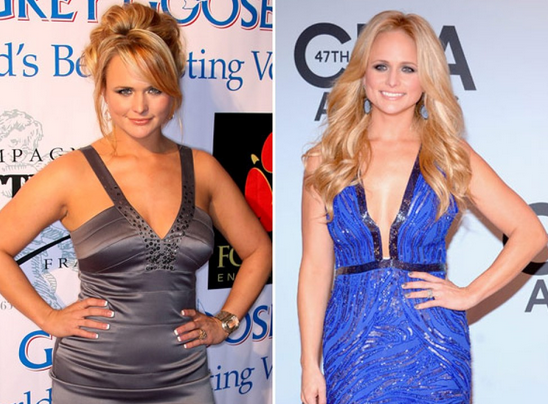 miranda lambert before and after