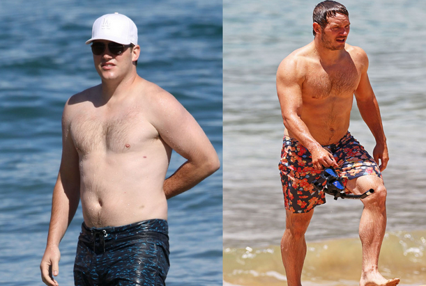 Chris Pratt Galaxy Workout