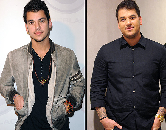 Rob Kardashian's Weight Transformation (Down 50lb +) - PK Baseline ...