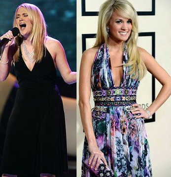 Something Carrie underwood is chubby