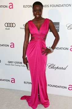 Danai Gurira at 21st Annual Elton John AIDS Foundation's Oscar Viewing Party