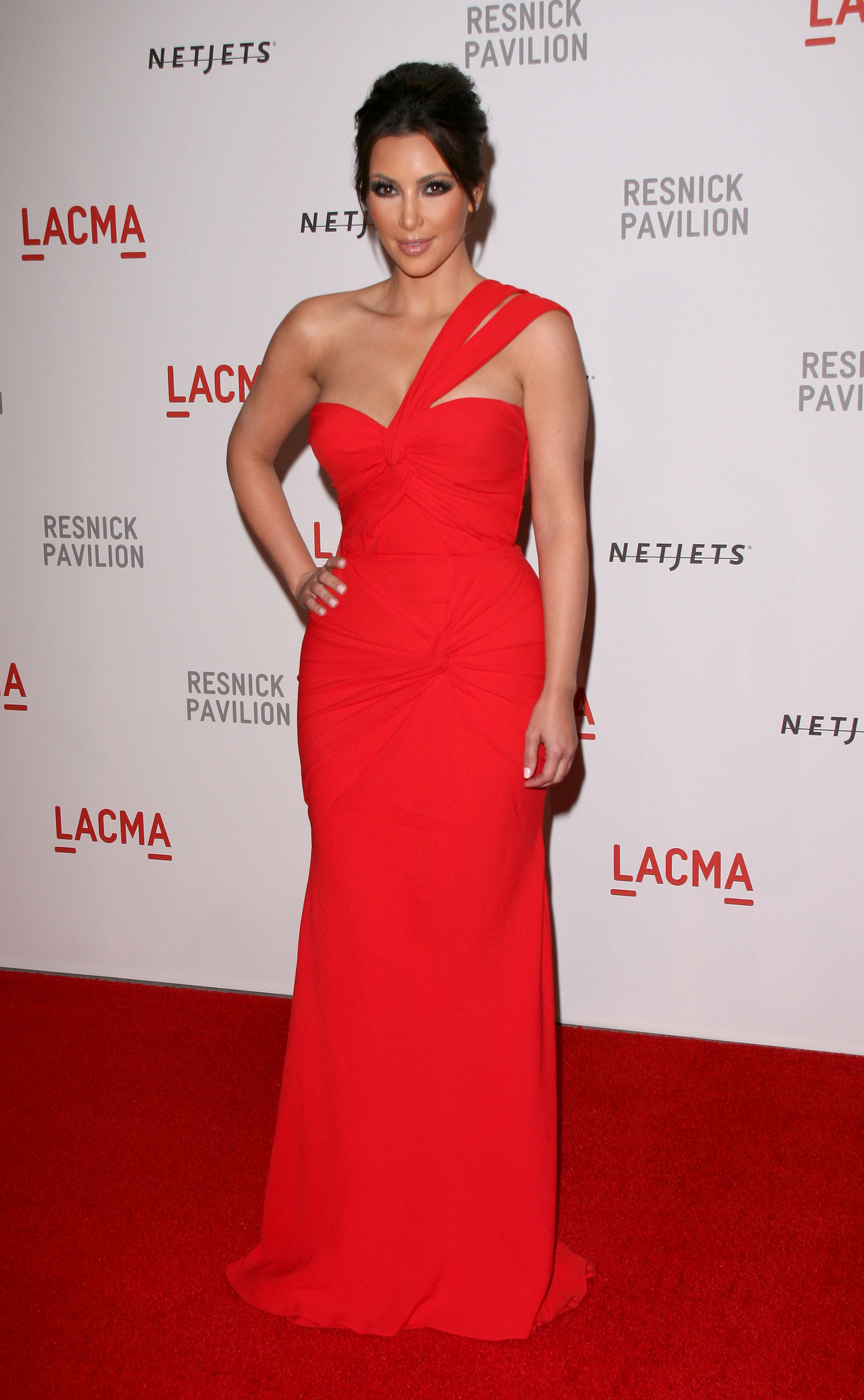 Kim Kardashian at LACMA Awards