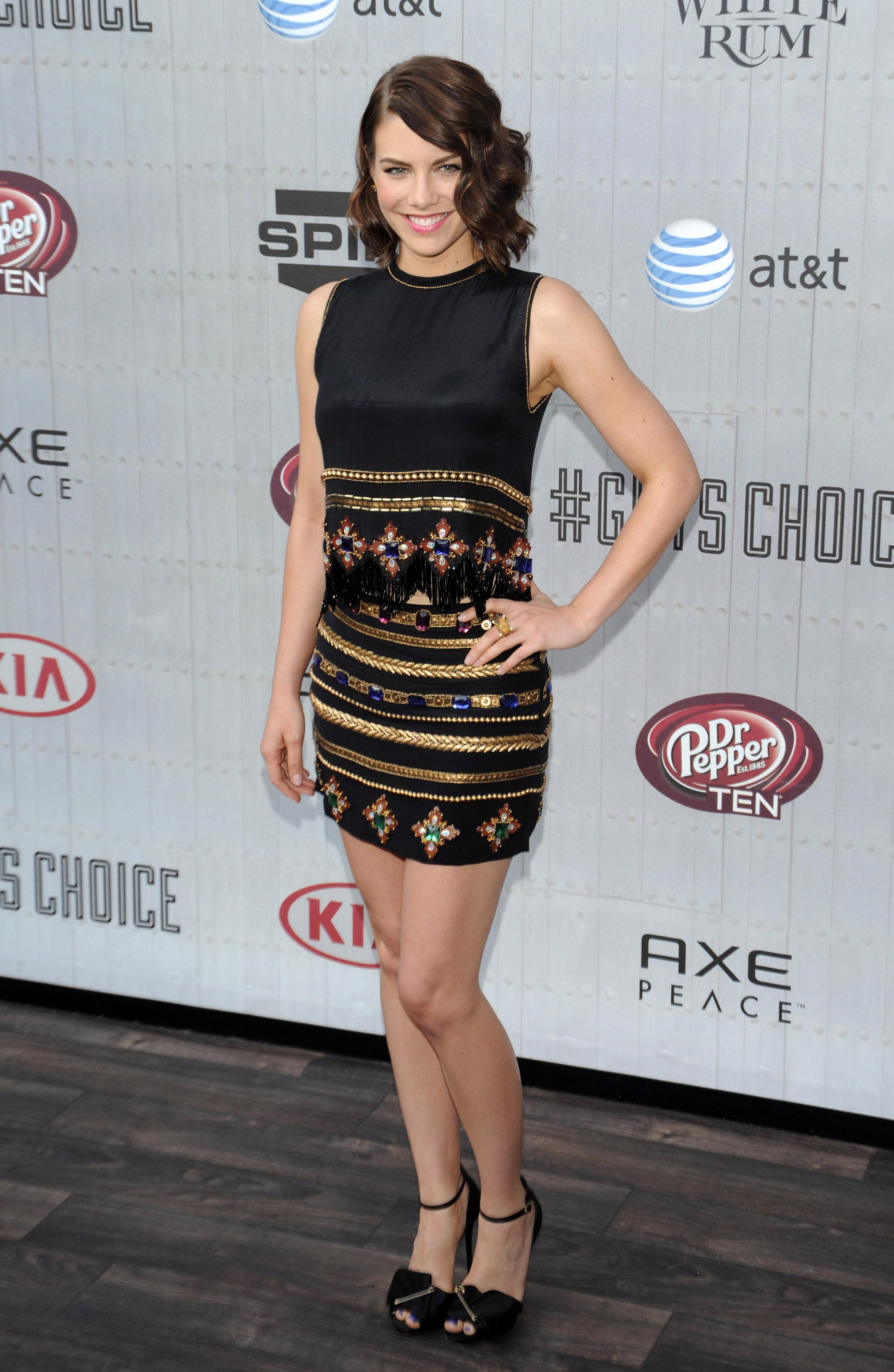Lauren Cohan at Spike TV's Guys Choice Awards