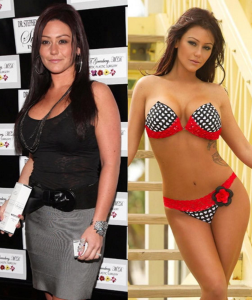 Jwoww weight loss