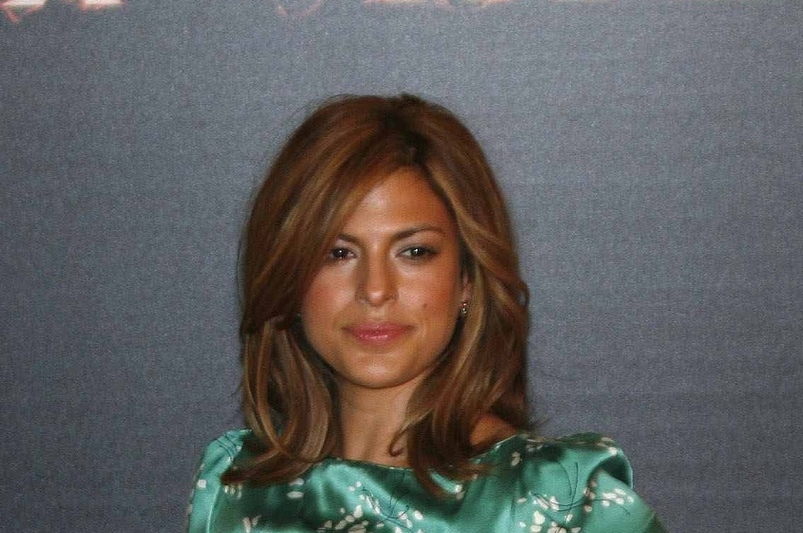 "Actress Eva Mendes strikes a pose during a photocall to promote her film ""Ghost Rider"" in Madrid"