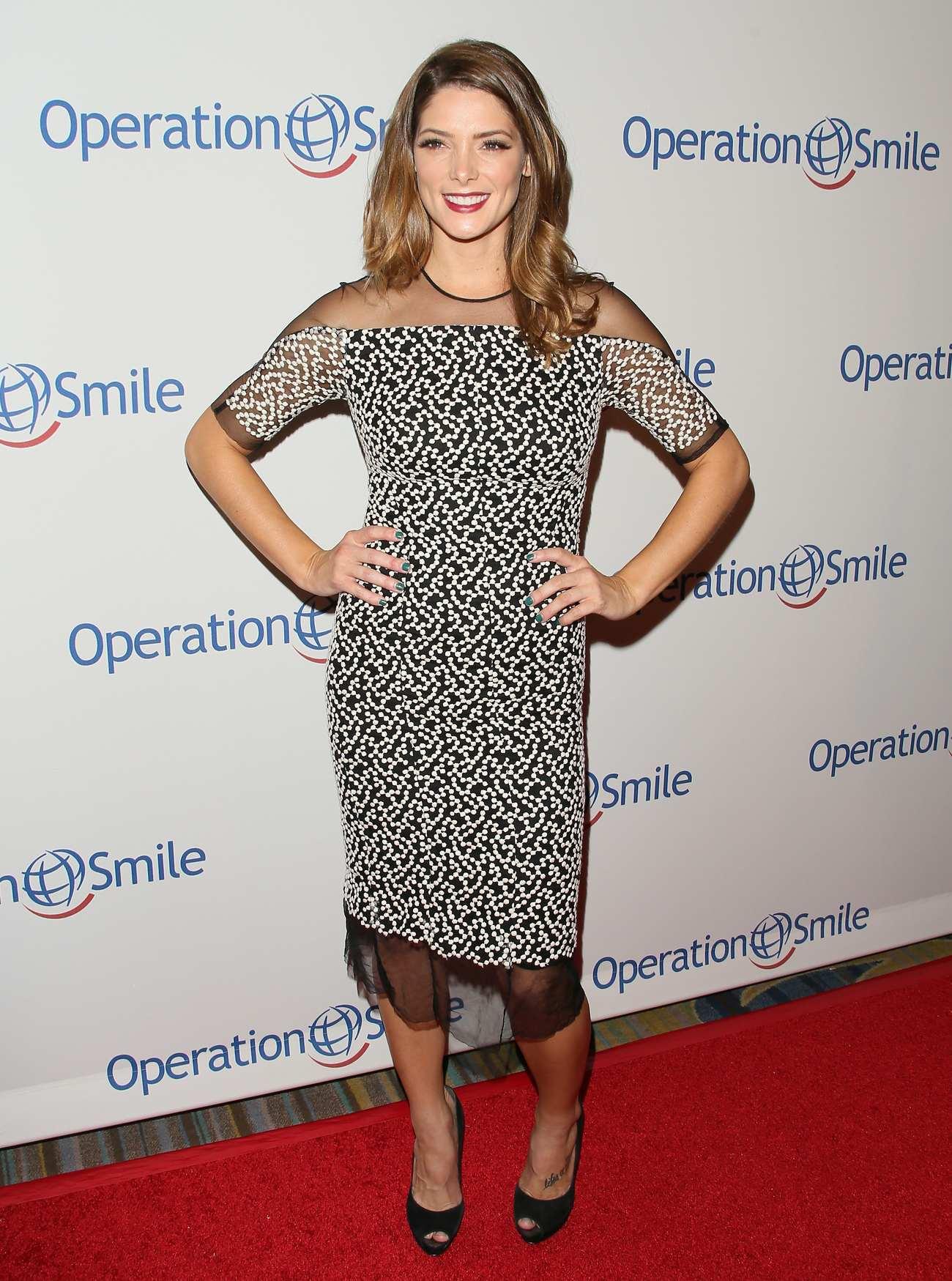 Ashley Green at Operation Smile Gala