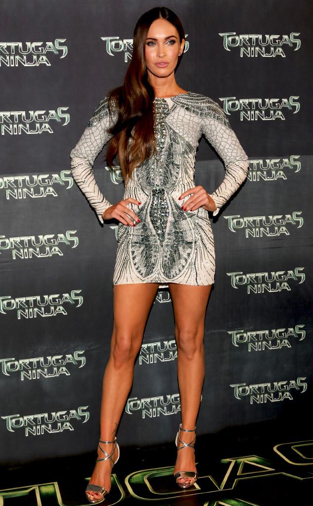 Megan Fox at TMNT Premiere