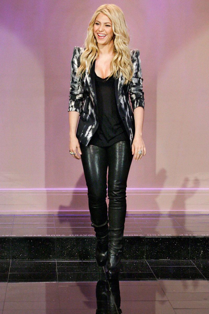 Shakira at Jay Leno