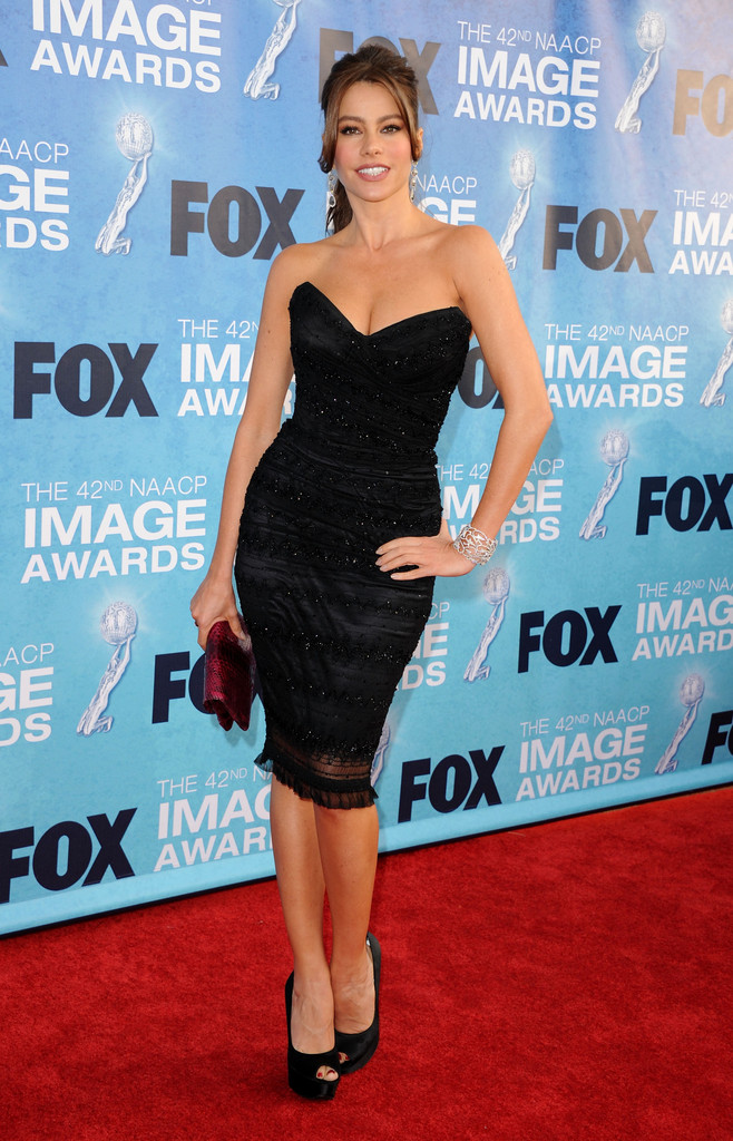 Sofia Vergara at NAACP Image Awards