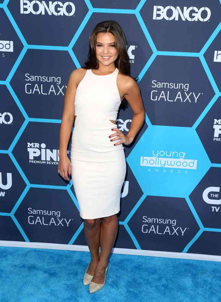 Danielle Campbell at Young Hollywood Awards