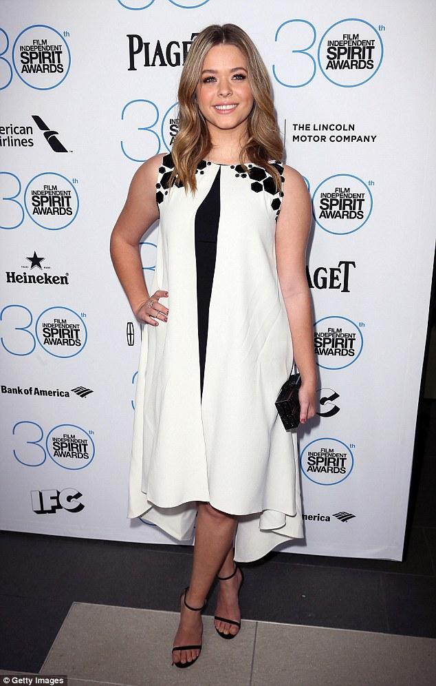 Sasha Pieterse at Spirit Awards
