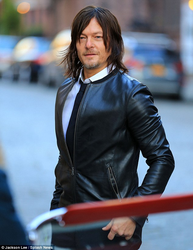The 41-year-old actor Norman Reedus has a photography exhibit at Voila! Gallery in Los Angeles