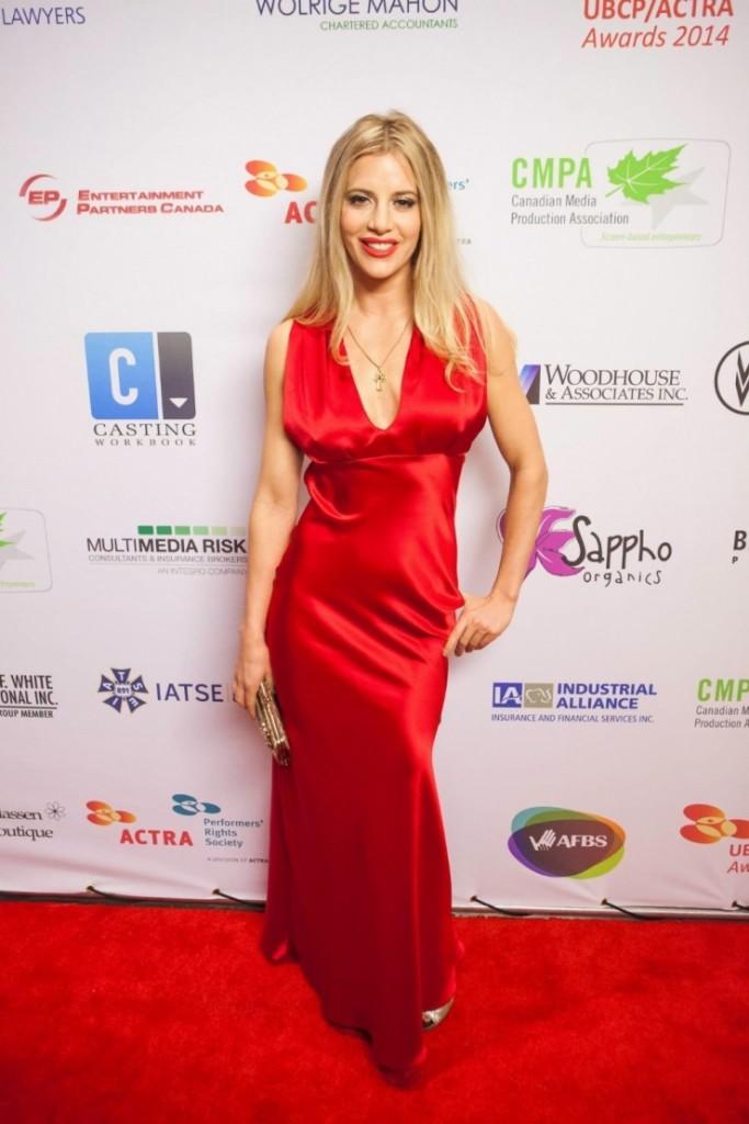Rachel Sheen at aria awards 2015