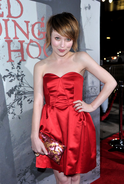 Emily Browning at the Red Riding Hood Premiere