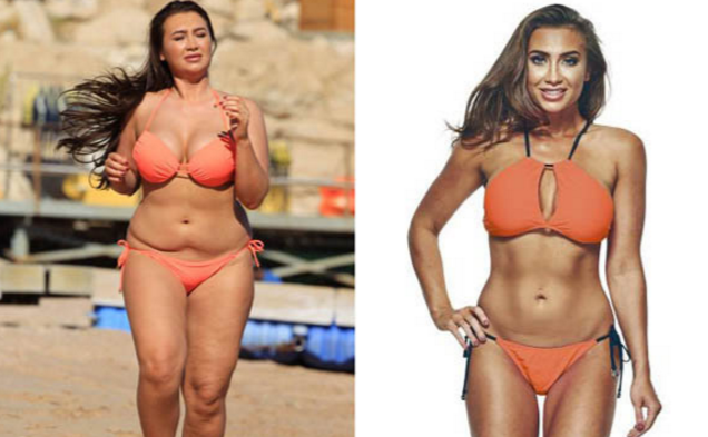 Lauren Goodger Workout and Diet Plan
