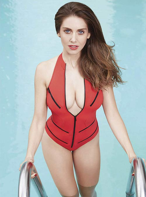 Alison Brie for GQ Mexico.