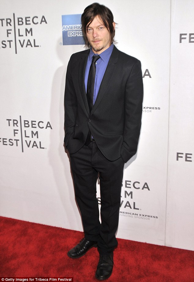 Norman Reedus at Tribeca Film Festival in New York City.