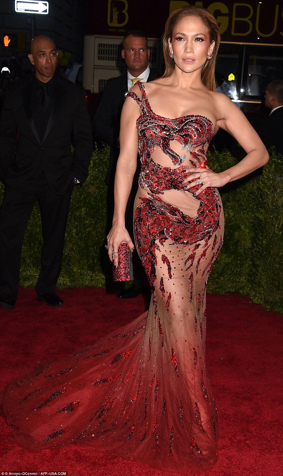 Jennifer Lopez at Red Carpet