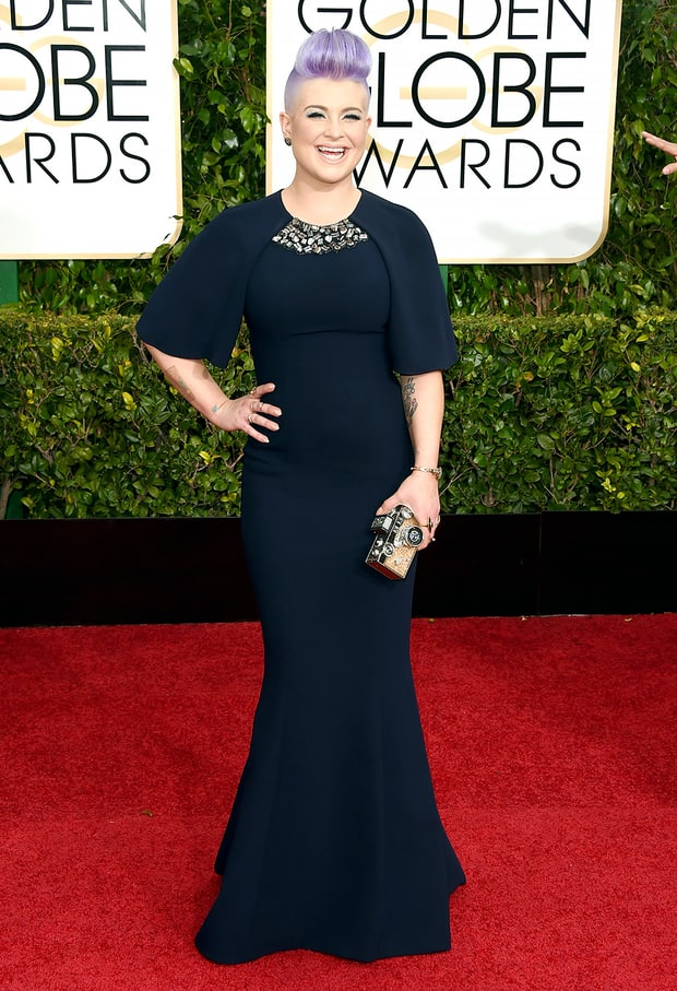 Kelly Osbourne at Golden Globes