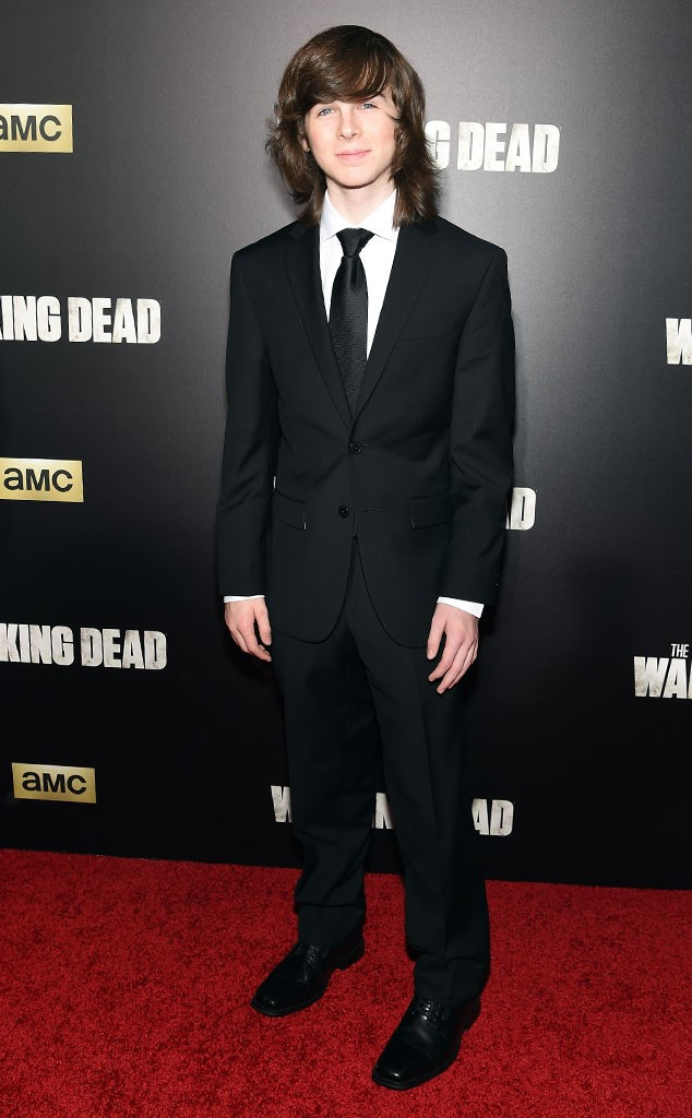 Walking Dead Premiere, Chandler Riggs