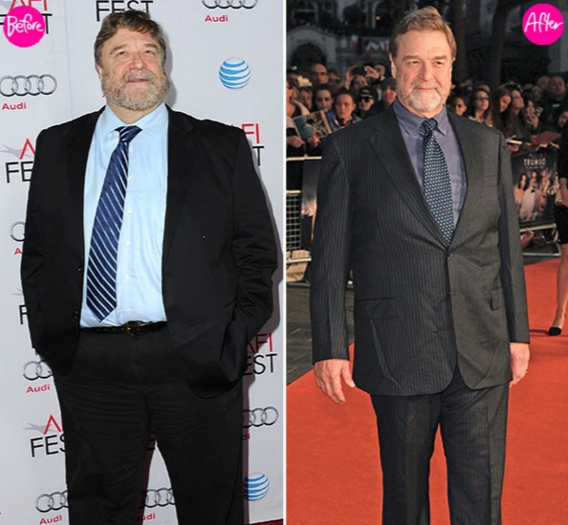 John Goodman Before and After