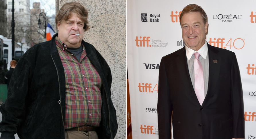 John Goodman After Diet