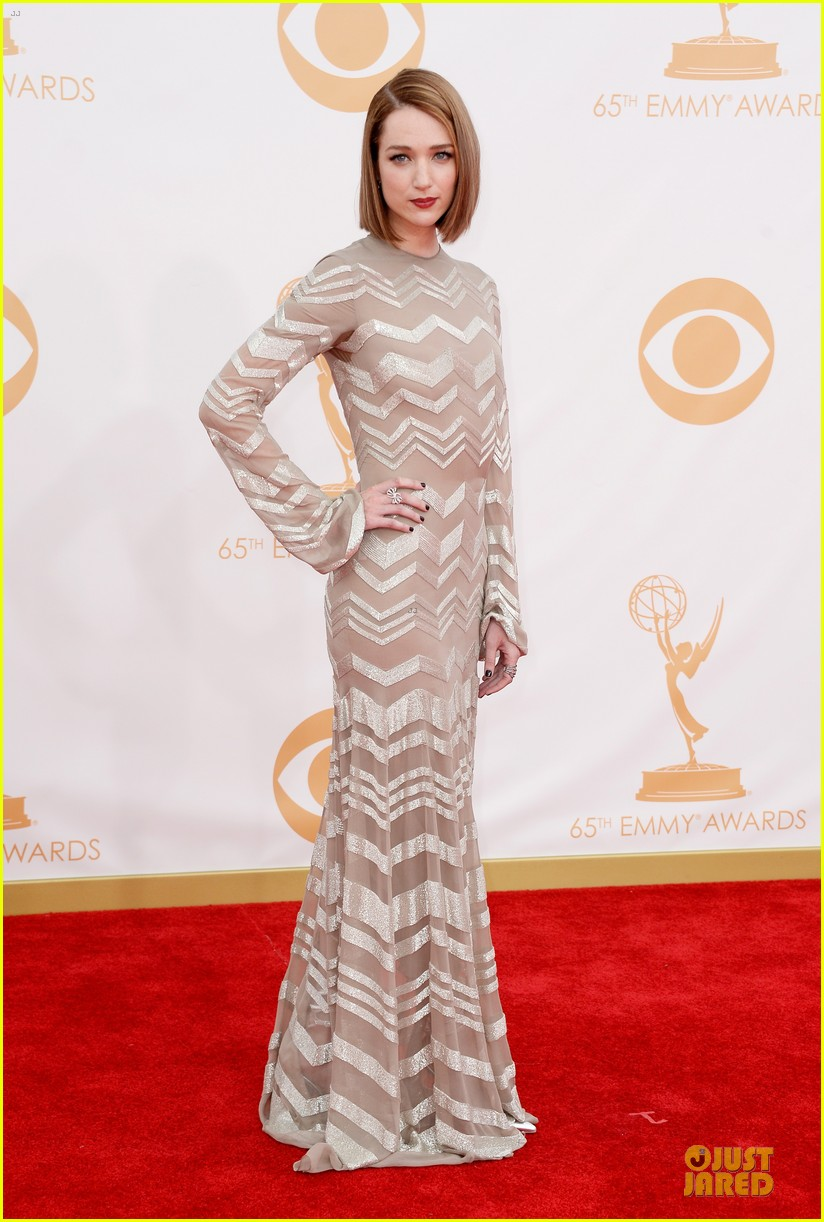 Kristen Connolly at the Emmy Awards