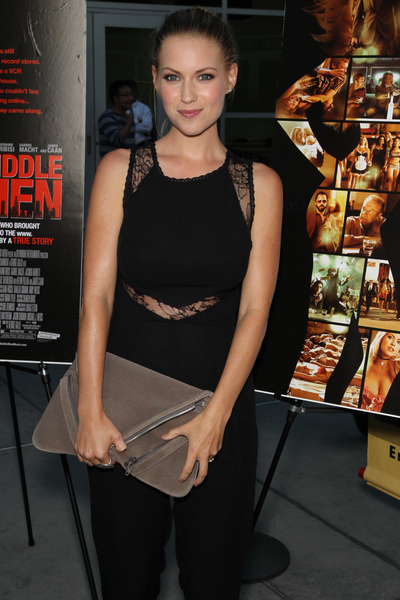 """Laura Ramsey at the premiere of """"Middle Men"""""""