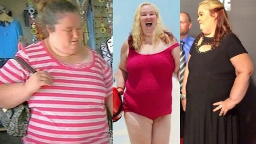 Momma June before and After Weight Loss