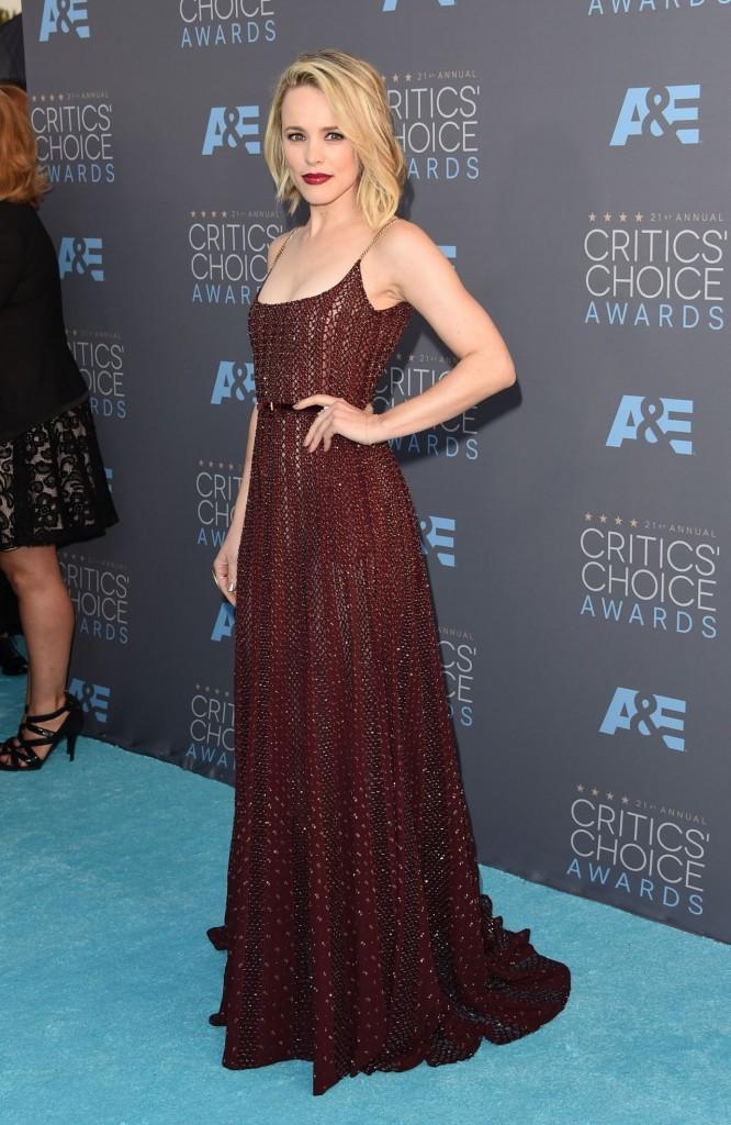 Rachel McAdams – 2016 Critics' Choice Awards in Santa Monica
