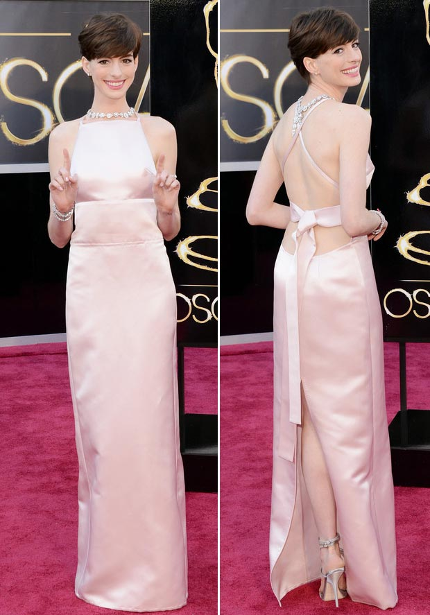 Anne Hathaway at the Oscar