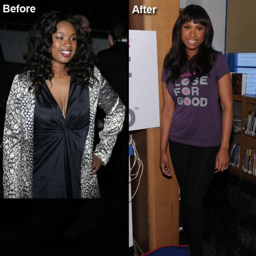 Jennifer Hudson Weight Loss: Before and After - PK Baseline- How Celebs Get Skinny and Other ...