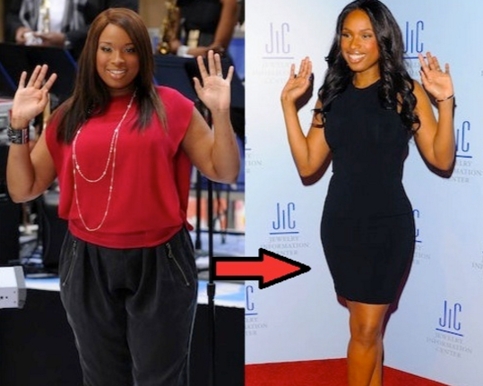 Jennifer Hudson Before and After Weight Loss Transformation