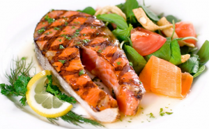 régime de saumon