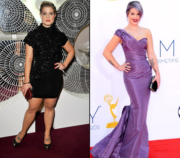 how did kelly osbourne loss weight