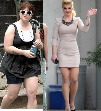 Kelly Osbourne before & after