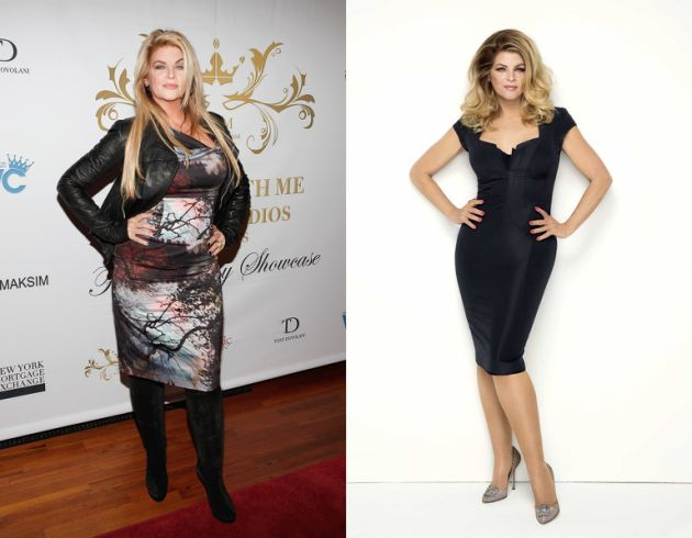 Kirstie Alley After Weight Gain