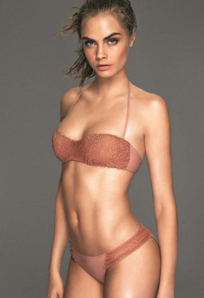 Cara Delevingne- A Super Model Workout