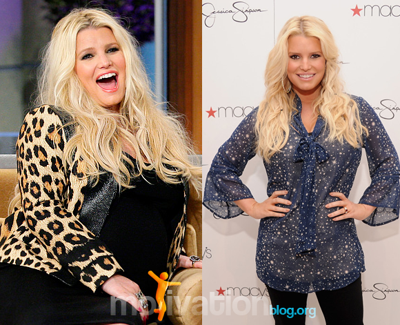 Jessica Simpson Weight Loss Before And After