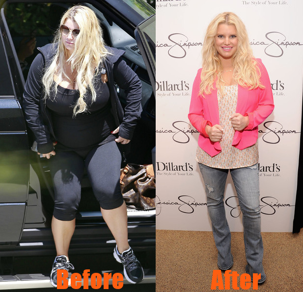 Jessica Simpson Before & After