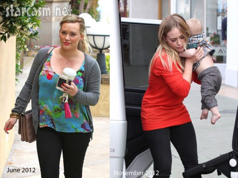 Hilary Duff Baby Weight Loss