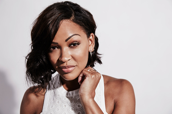 SAN DIEGO, CA - JULY 11: Actress Meagan Good of 'Minority Report' poses for a portrait at the Getty Images Portrait Studio Powered By Samsung Galaxy At Comic-Con International 2015 at Hard Rock Hotel San Diego on July 11, 2015 in San Diego, California.  (Photo by Maarten de Boer/Getty Images Portrait)