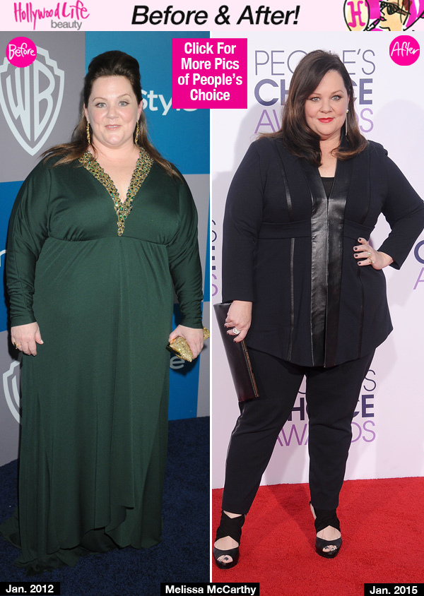 Melissa McCarthy's Weight Loss: Dropped 75 lbs!!!