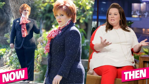 Melissa McCarthy's 50 Pound Weight Loss