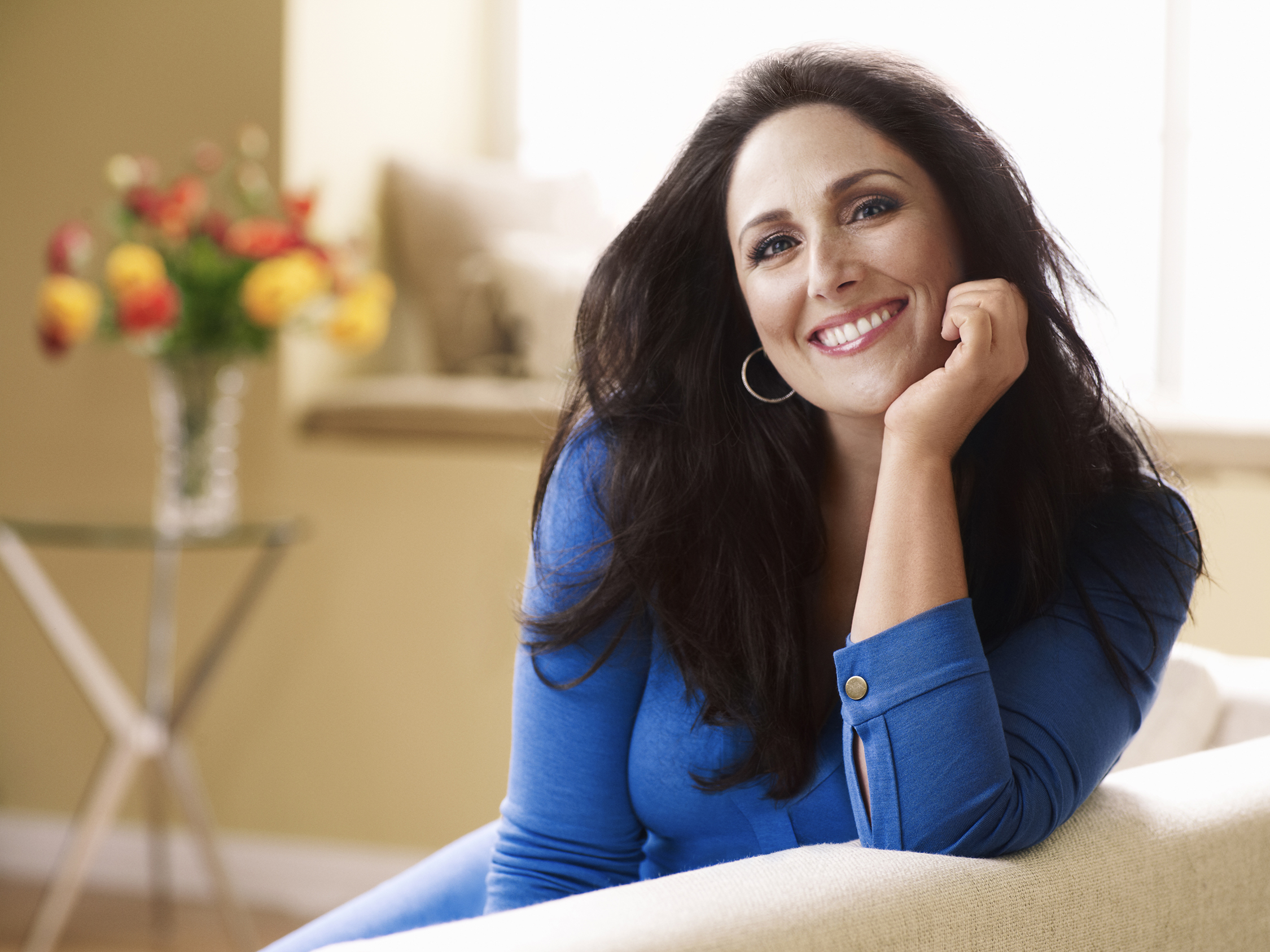 """LOS ANGELES, CA - MAY 20:  In this handout photo provided by 20th Television, Ricki Lake poses during a portrait shoot for her new talk show """"The Ricki Lake Show"""" on May 20, 2011 in Los Angeles, California.  (Photo by Art Streiber/20th Television via Getty Images)"""
