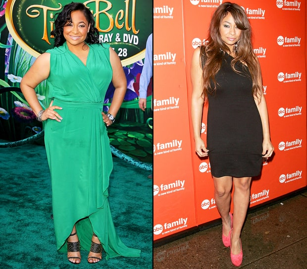 Raven Symone Before And After Weight Loss Raven-Symone's Shockin...