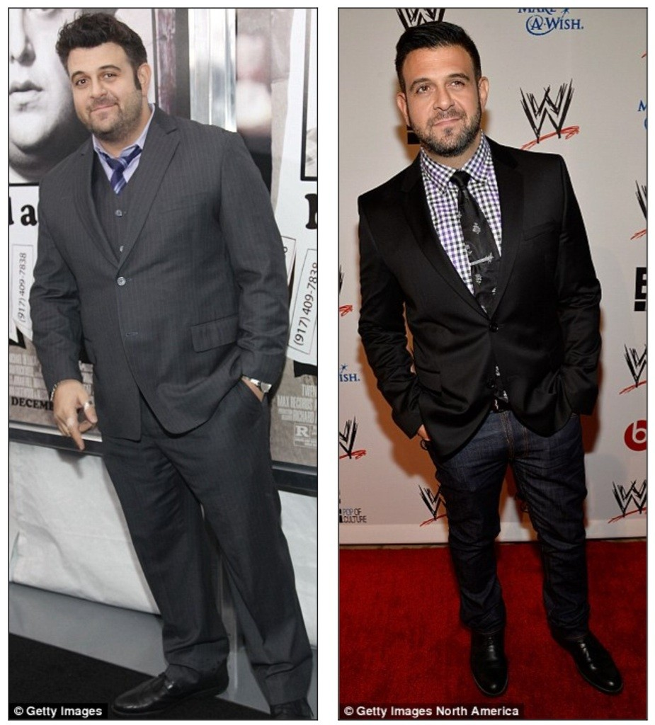 Adam Richman weight loss since quitting Man vs. Food