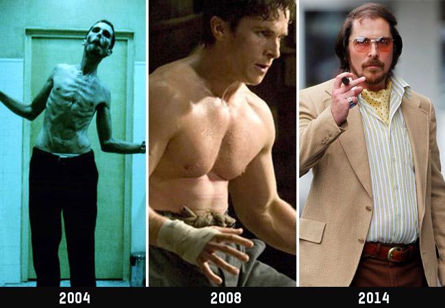 Christian Bale Gewicht
