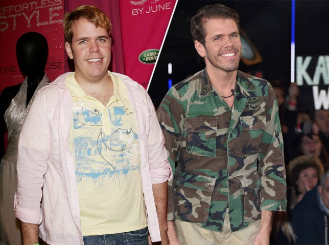 perez hilton weight loss before after