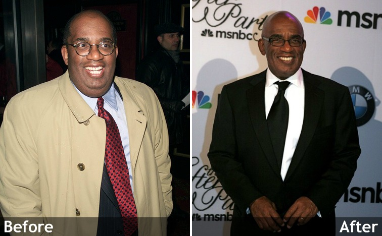 Al roker weight transformation